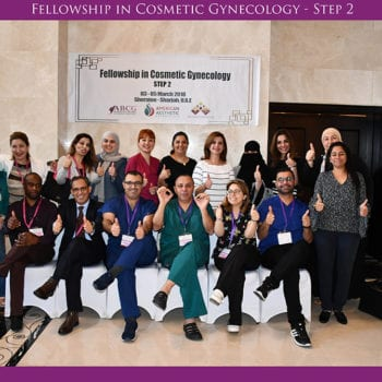 Fellowship In Cosmetic Gynecology 03-05 March 2018 - Step 2
