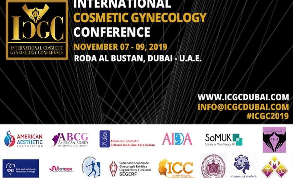 International Cosmetic Gynecology conference with renowned speakers from around the world